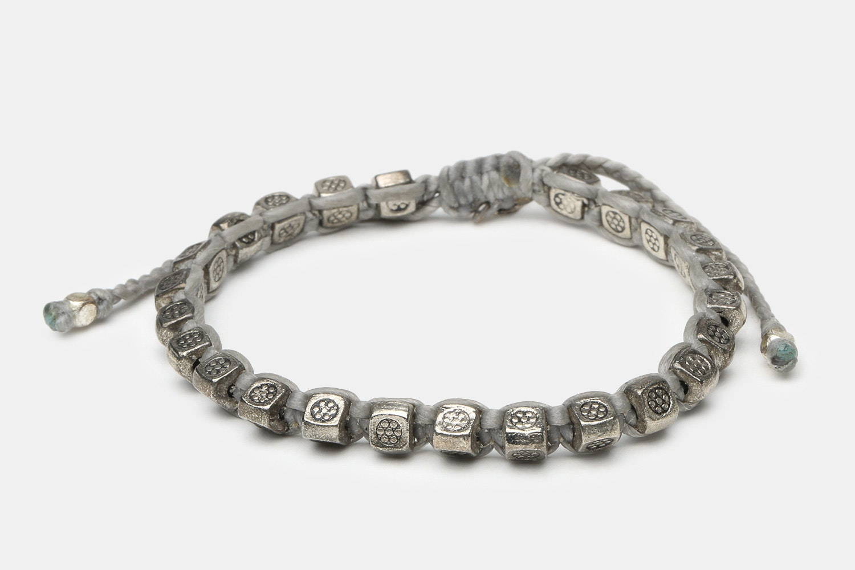 Thai Silver Beads - Gray