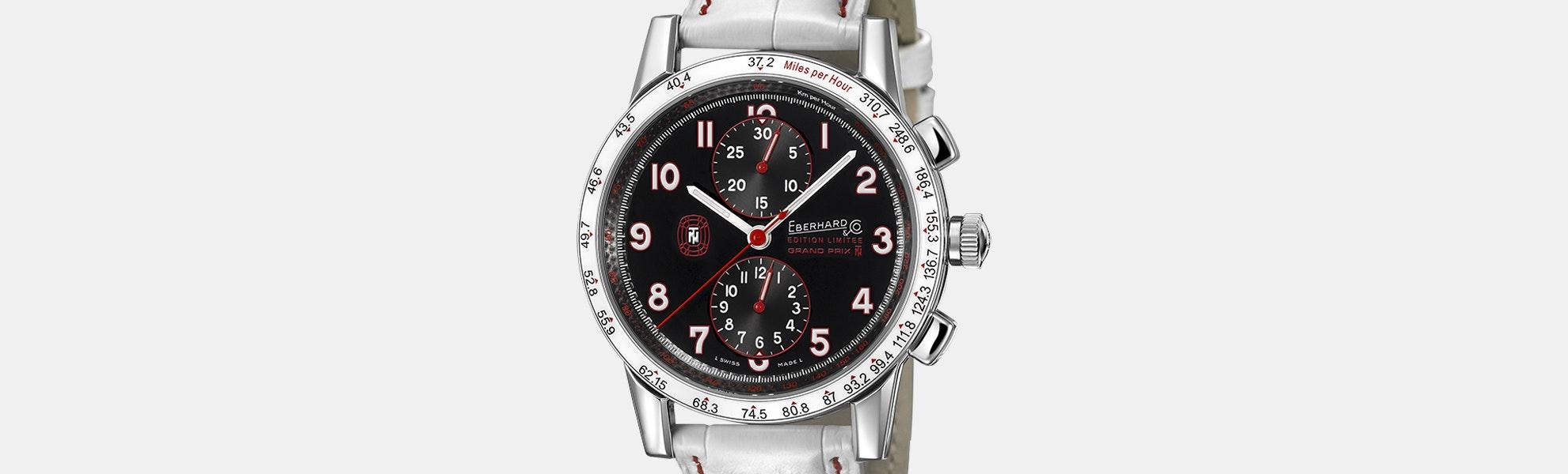 Eberhard & Co Tazio Nuvolari Ltd Ed Automatic Watch
