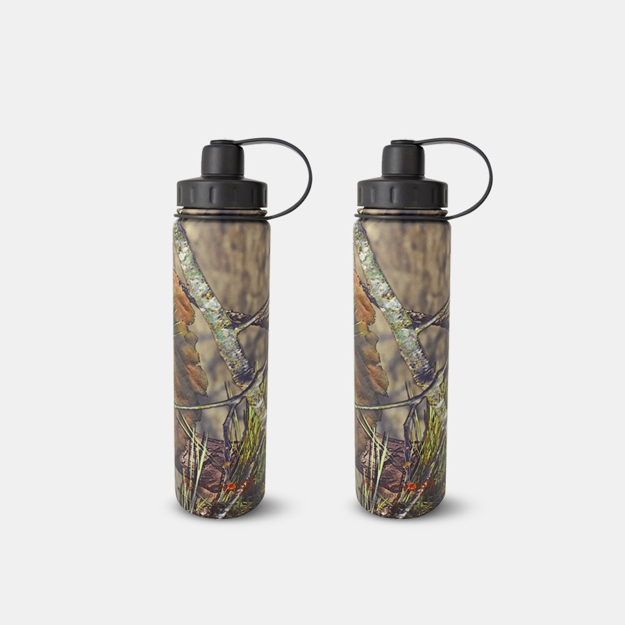 EcoVessel Boulder & Bigfoot Bottles (2-Pack)