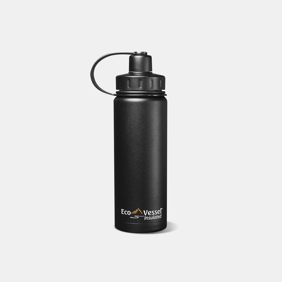EcoVessel Boulder Insulated Steel Bottle  24 oz