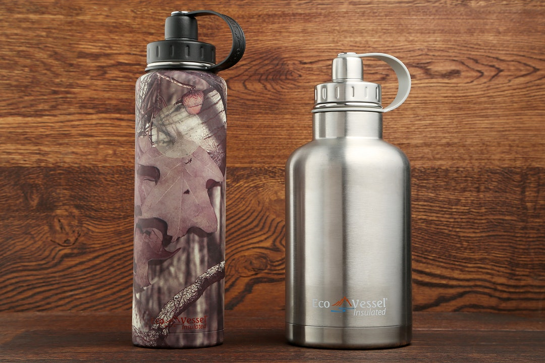 EcoVessel Bigfoot & Boss Triple-Insulated Bottles