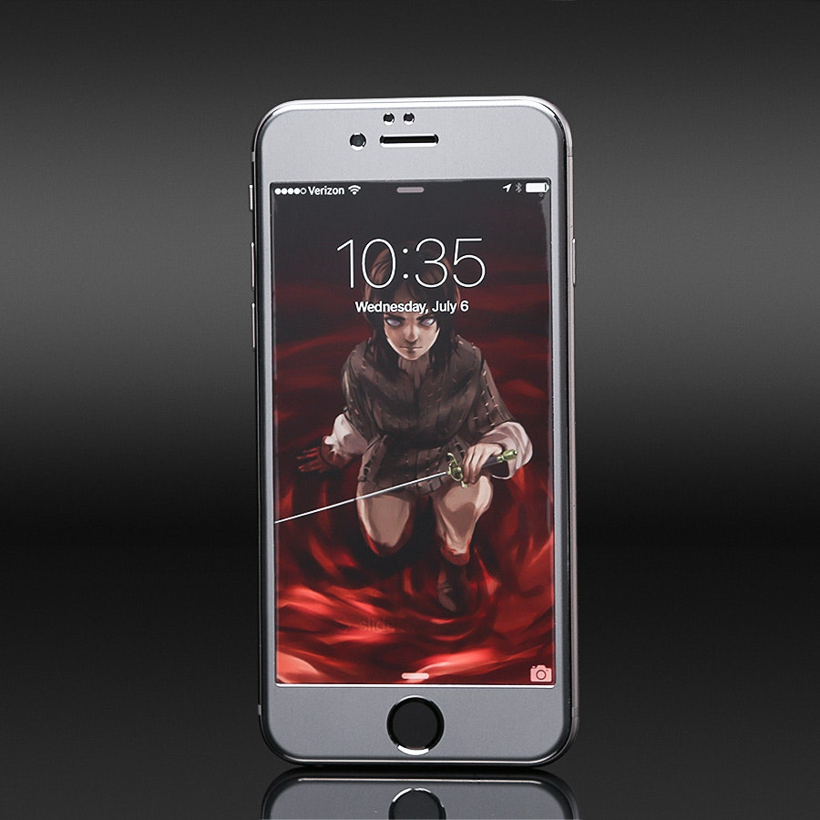 Edge-to-Edge iPhone Protection by Phantom Glass