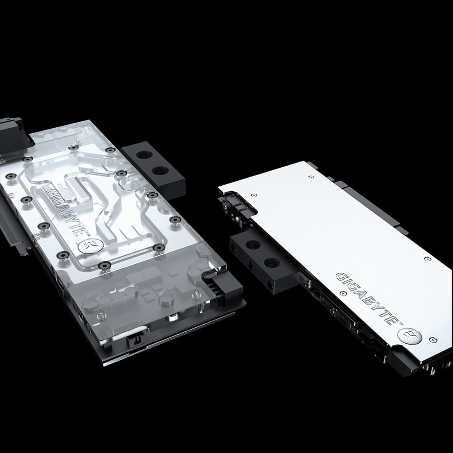 EK GPU Water Cooling Block & Backplate Bundle