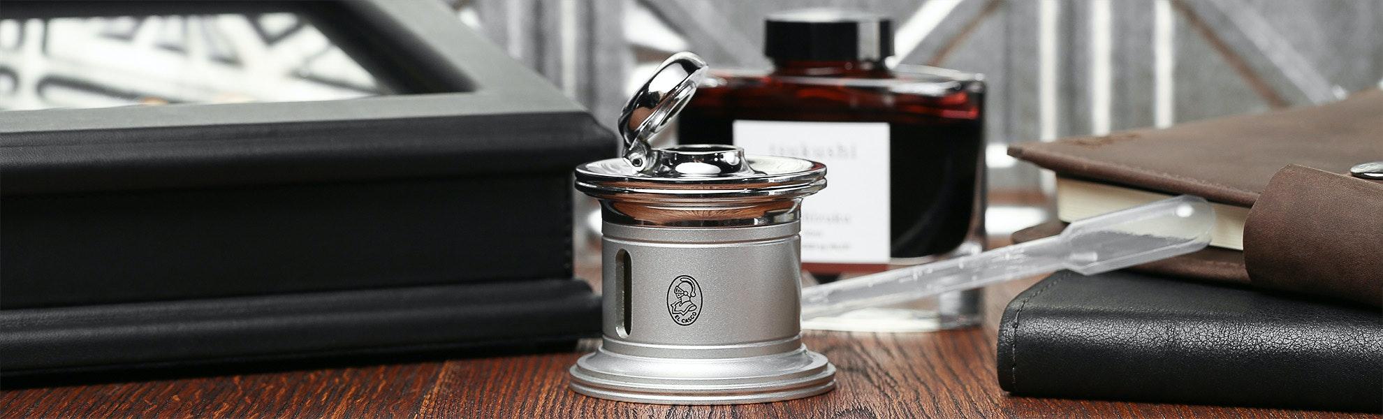 El Casco Luxury Inkwell