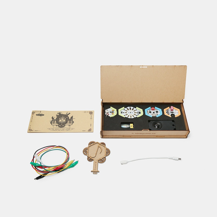 ElecFreaks HoneyComb Music Kit for STEM Education