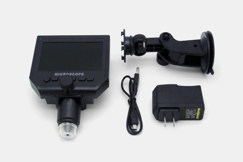 Elecrow Digital 1-600x Microscope (4.3-Inch Screen)