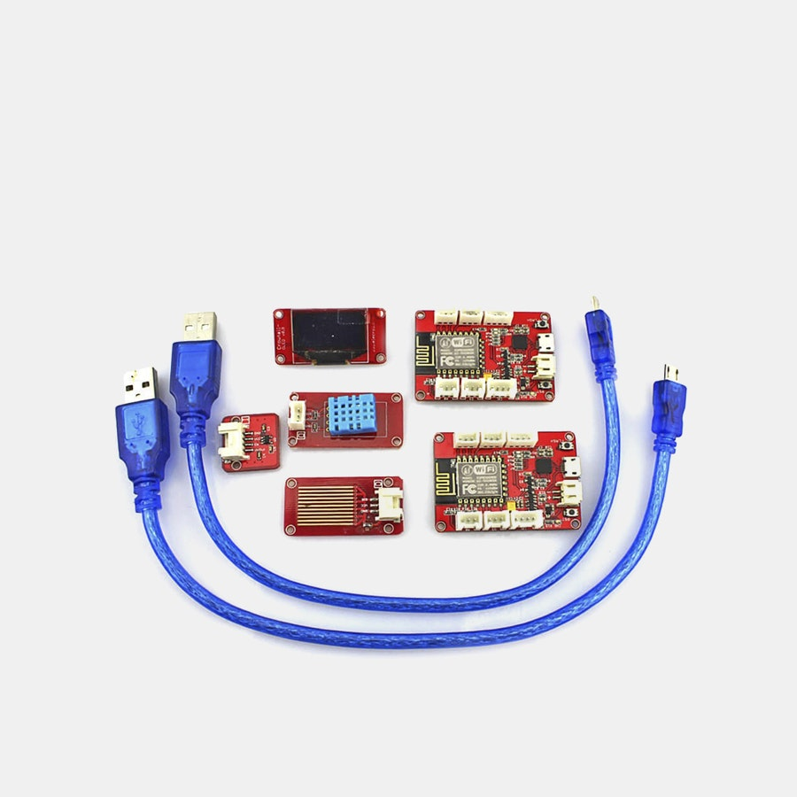 Elecrow ESP8266 IoT Weather Station Kit