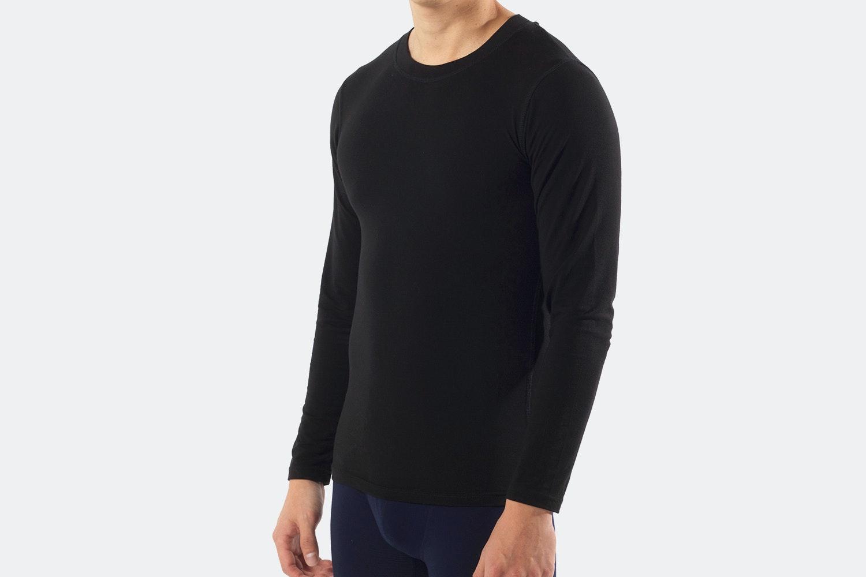 Crew Long Sleeve - M - Black