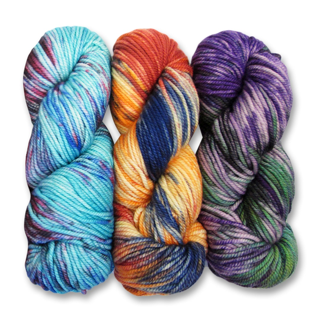 Ella Rae Chunky Merino Splash Yarn (3-Pack)