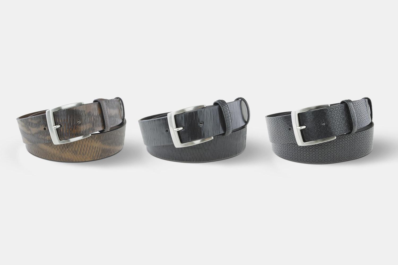 Elliot Rhodes Leather Belts