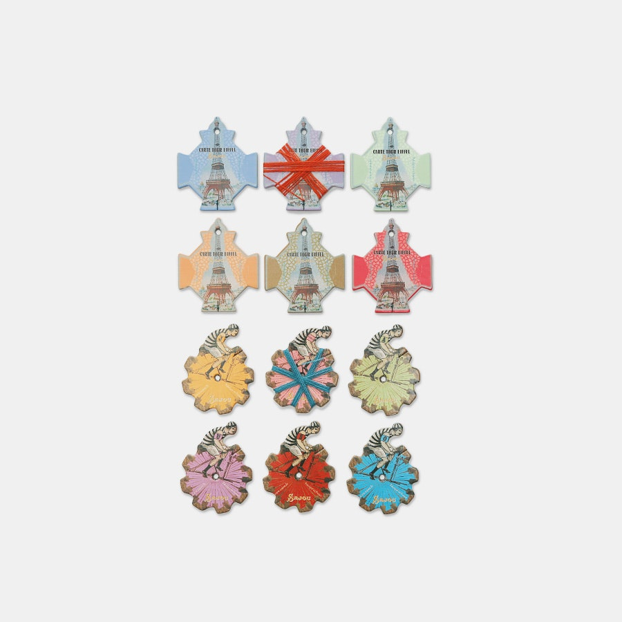 Embroidery Thread Cards (2-Pack) by Maison Sajou