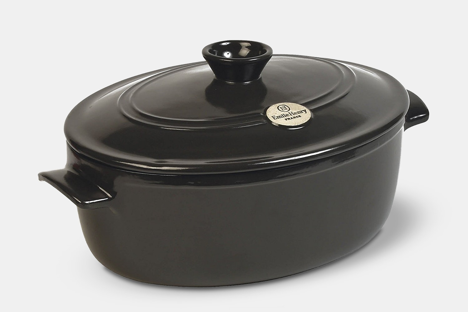 Oval Dutch Oven – Charcoal