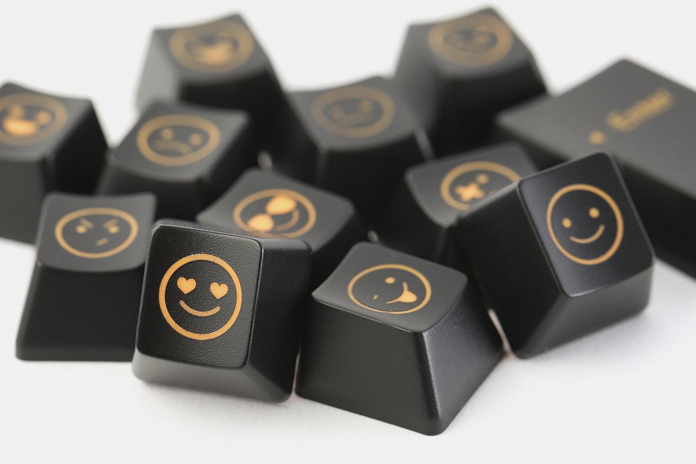 Emoji R4 + ISO Enter Shine-Through Novelty Keycaps