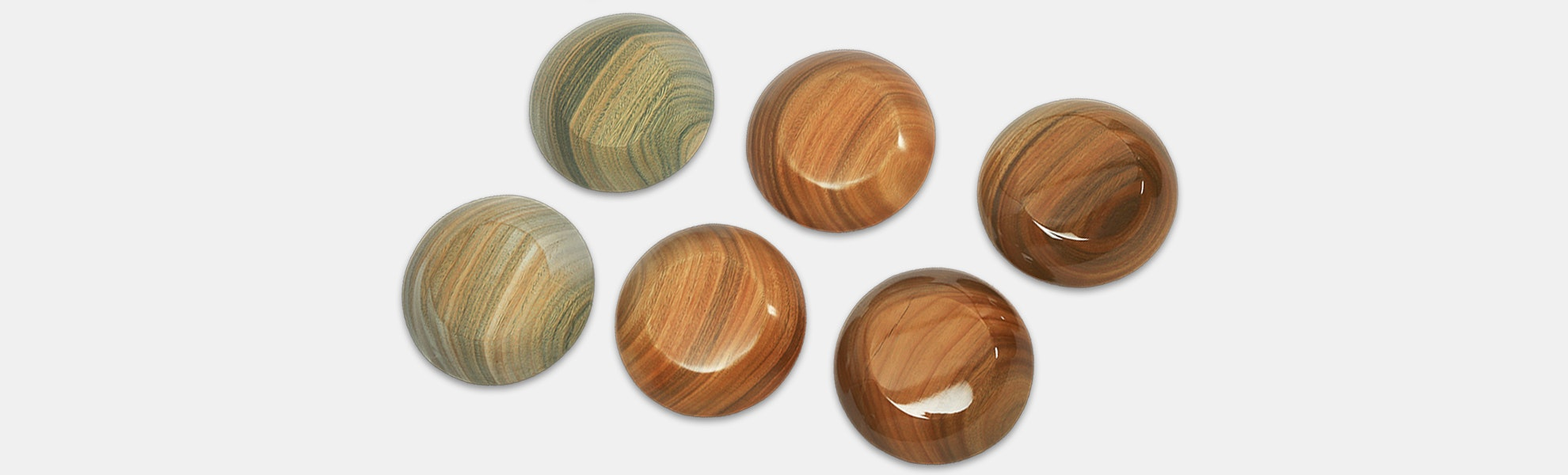 E-MU Palo Santo Artisan Wood Cups