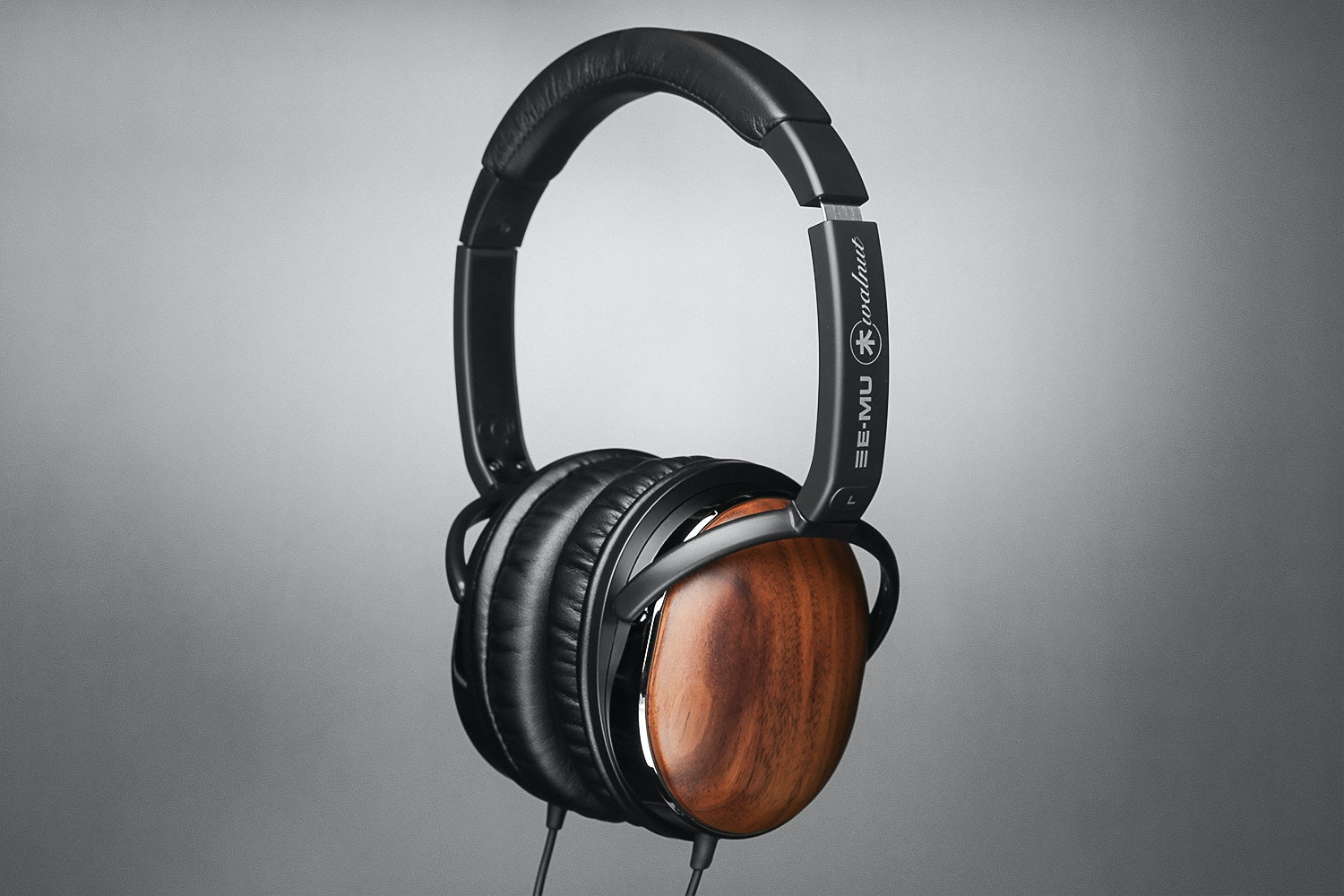 EMU Walnut Lightweight Headphones