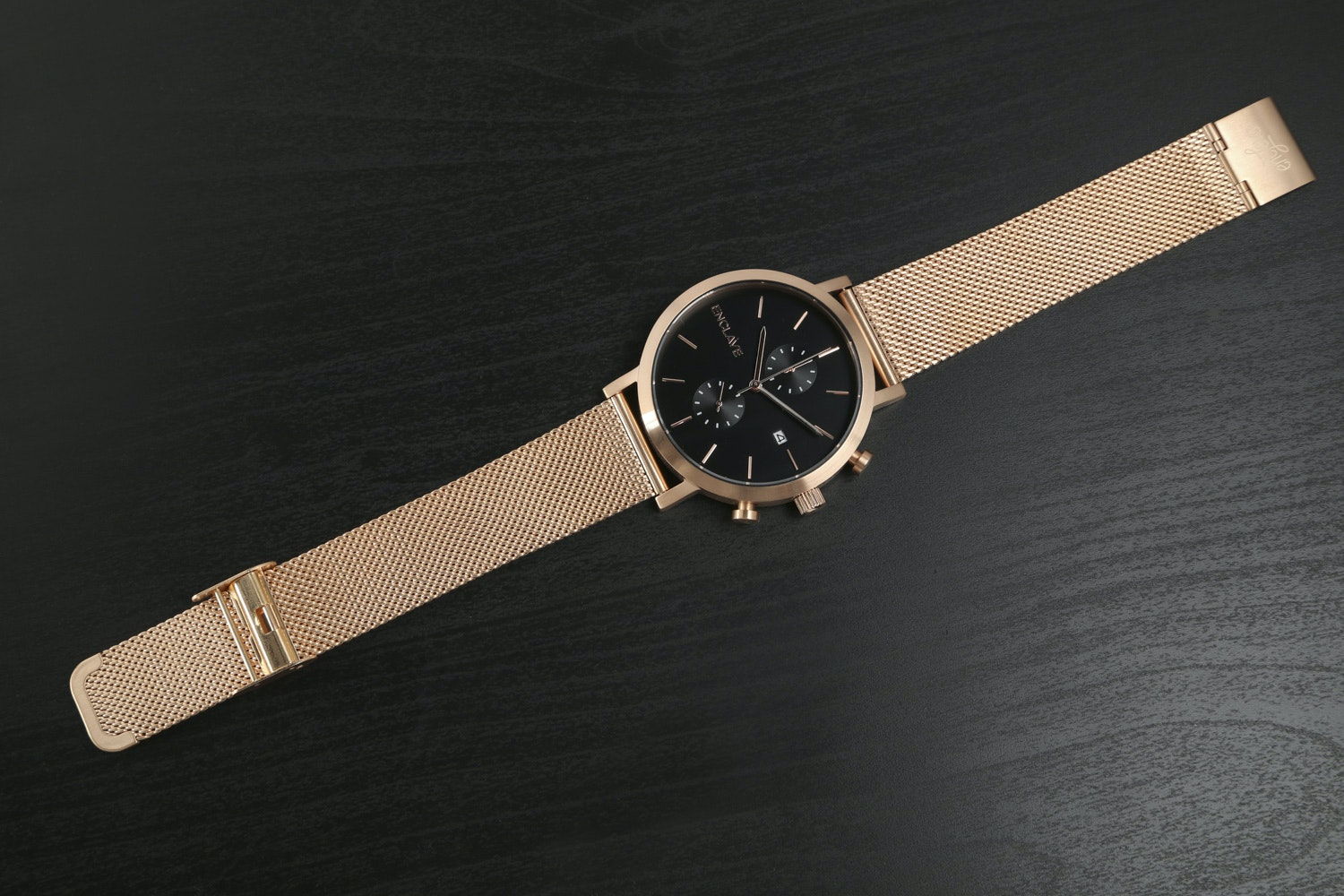 Rose Gold Case with Mesh Strap
