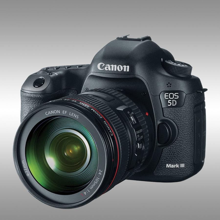EOS 5D Mark III 22.3 MP Digital SLR 24-105mm f/4L