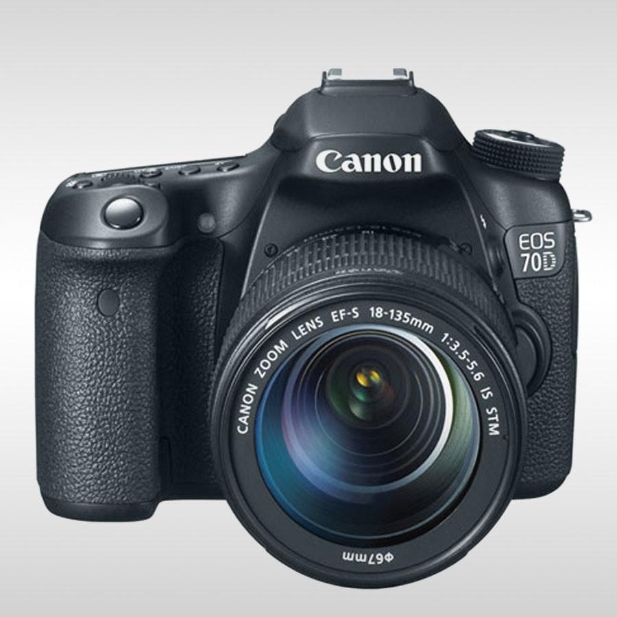 Canon 70D EF-S 18-135mm IS STM Kit