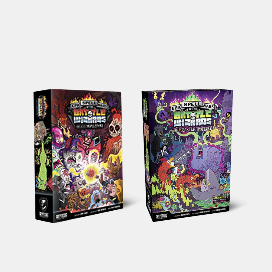 Epic Spell Wars of the Battle Wizards I & II