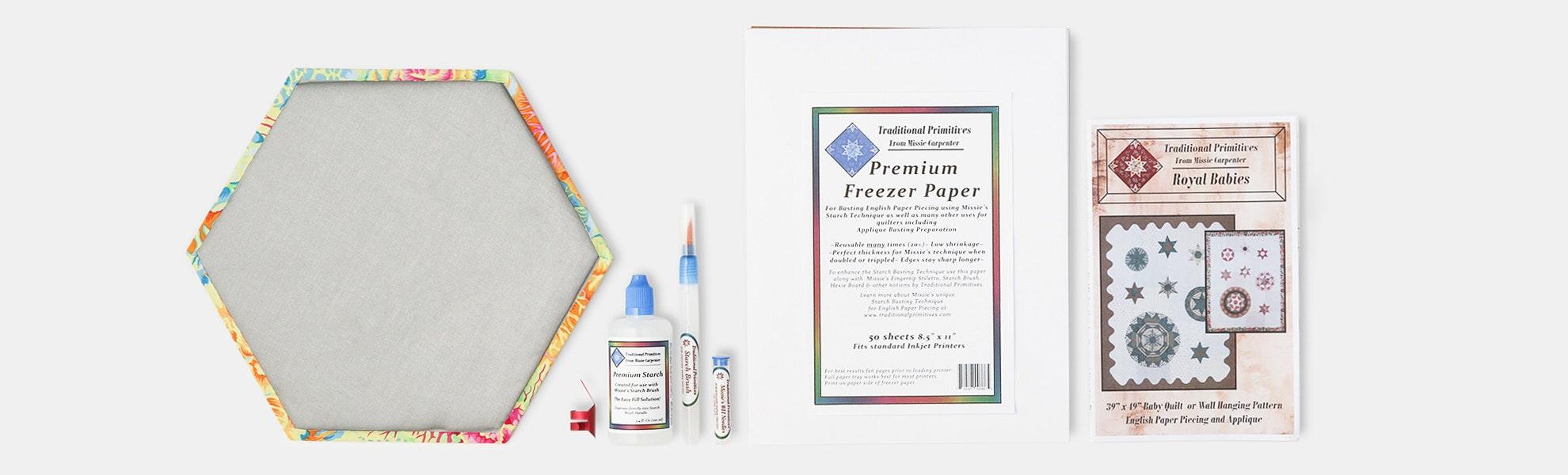 English Paper-Piecing Starter Kit