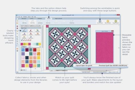 EQ8 Quilting Software | Price & Reviews | Massdrop : quilt design software reviews - Adamdwight.com