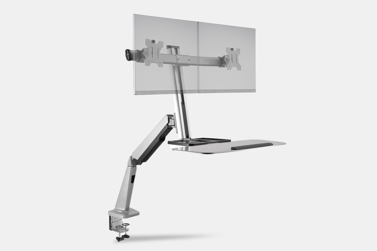 Clamp Mount – Dual Monitor (+ $20)