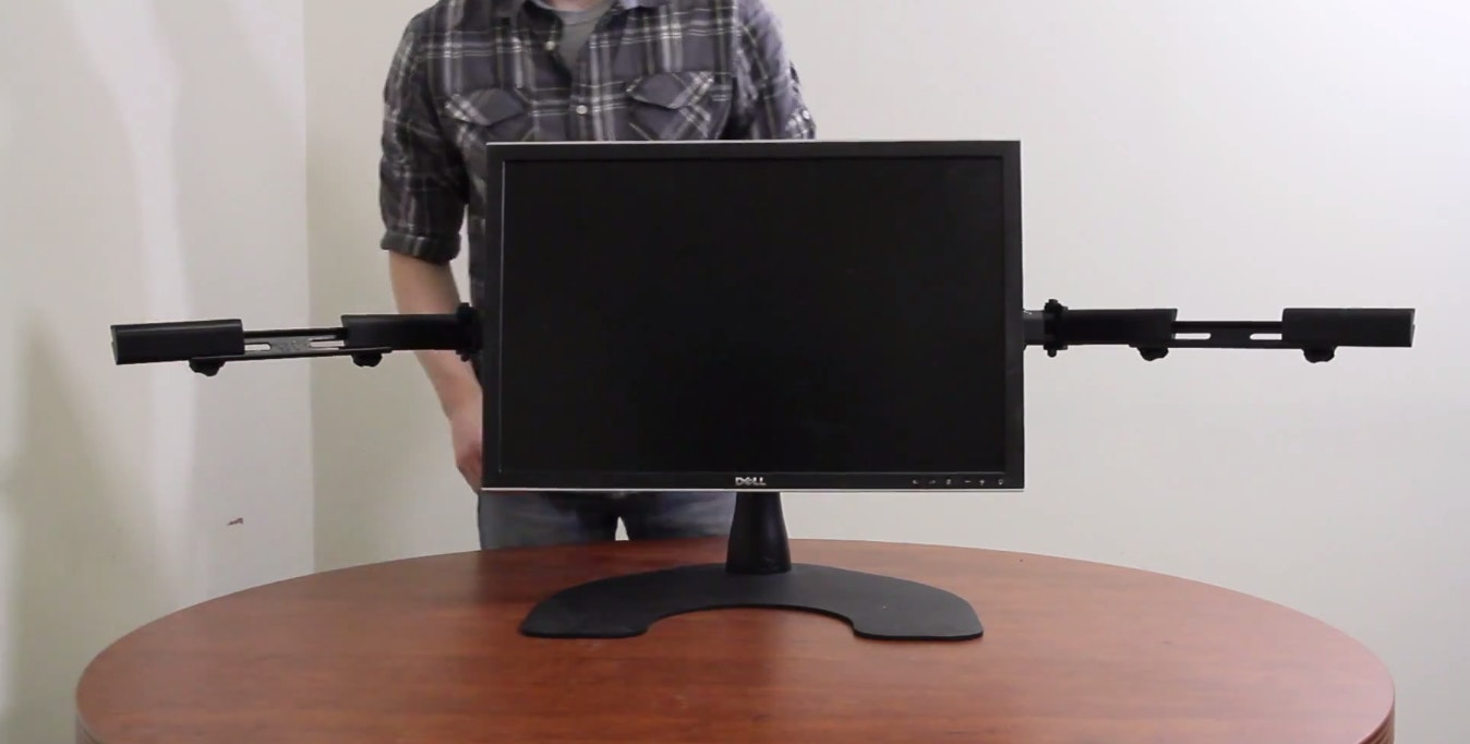Ergotech Freestanding Triple Monitor Stand Price Reviews Massdrop