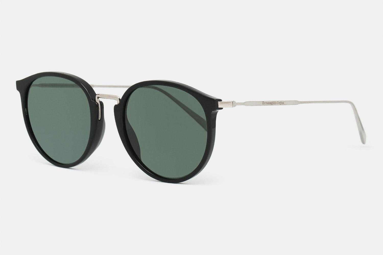 Ermenegildo Zegna EZ0048 Round Polarized Sunglasses