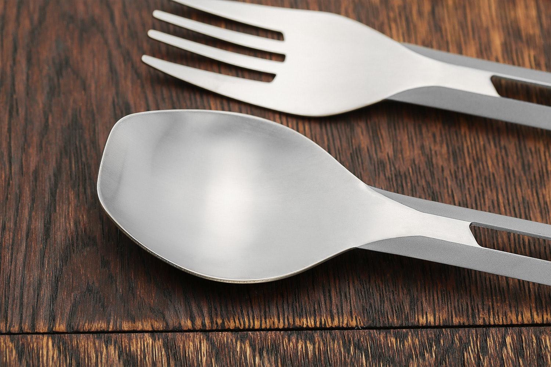 Esbit Titanium Cutlery Set (2-Pack)