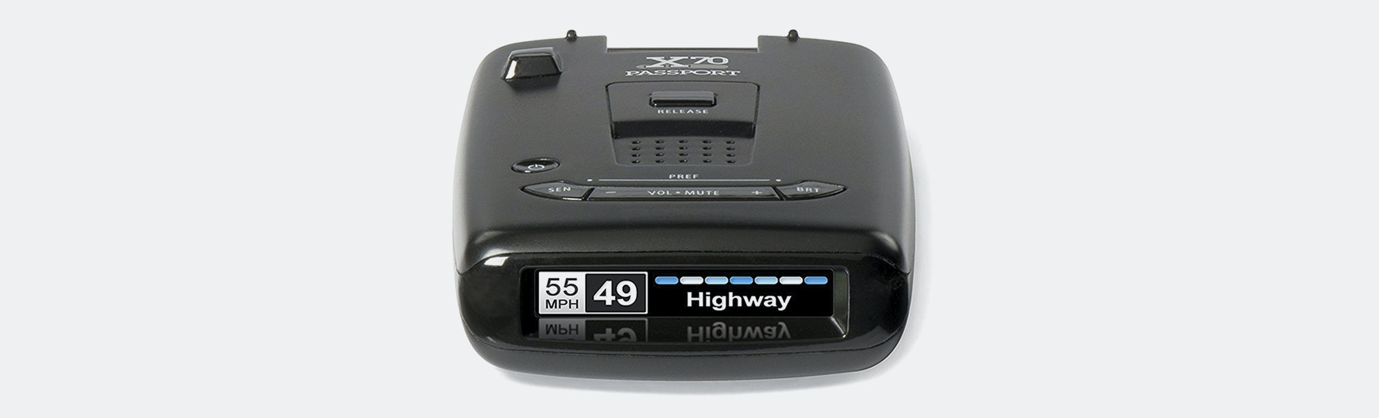 Escort Passport X70 Laser Radar Detector