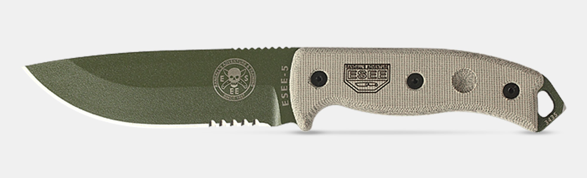 ESEE 5 Full-Tang Fixed Blade Knife