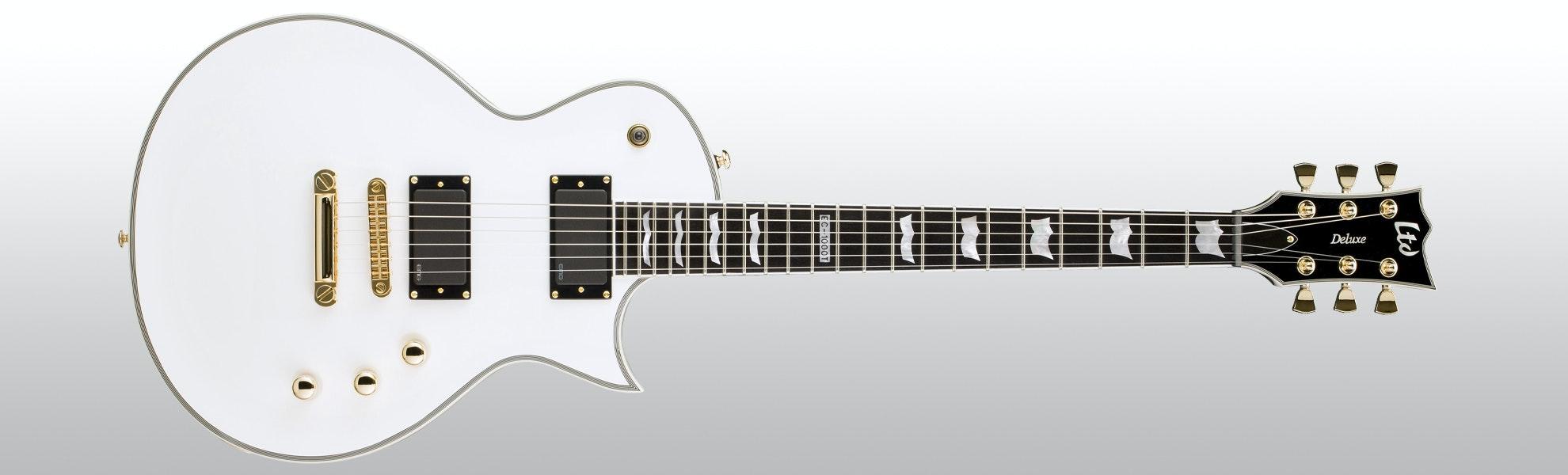ESP LTD EC-1000T/CTM Snow White