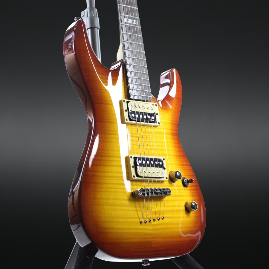 ESP LH-101 Flame Maple Electric Guitar