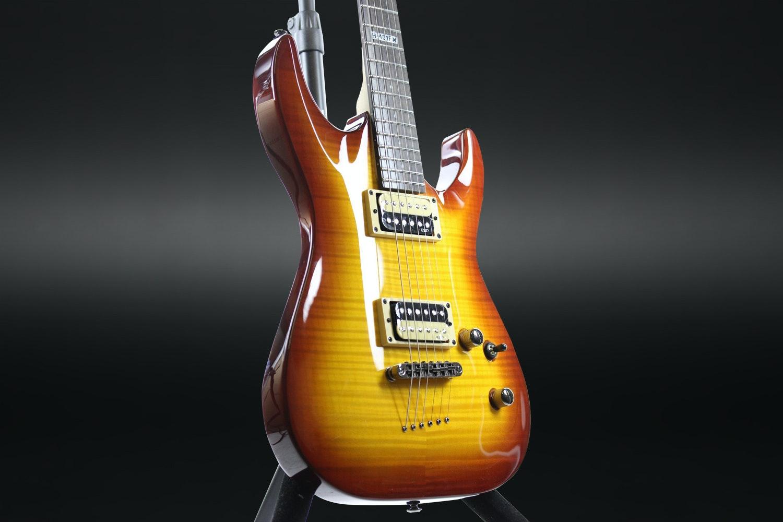 ESP LH-101 Flame Maple Electric Guitar