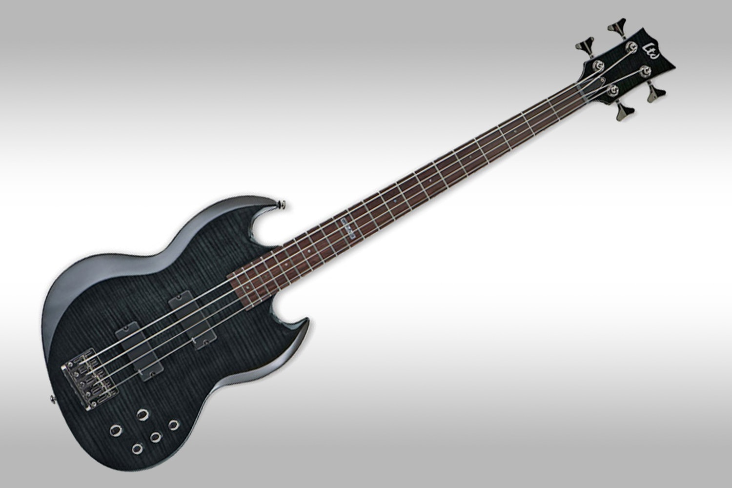 Viper 154DX See-Thru Black Flamed Maple