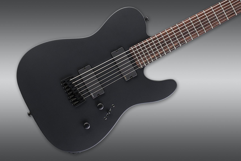 ESP LTD TE-407 Black Satin Guitar