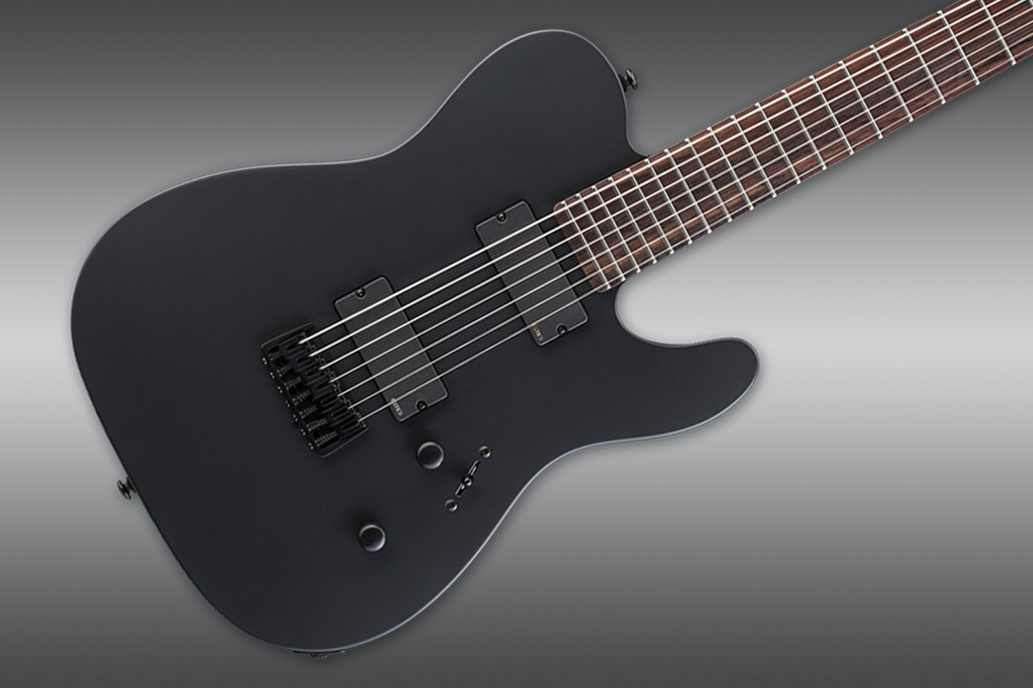 ESP LTD TE-407 Black Satin Guitar