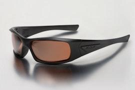 Black w/ Mirrored Copper Lenses