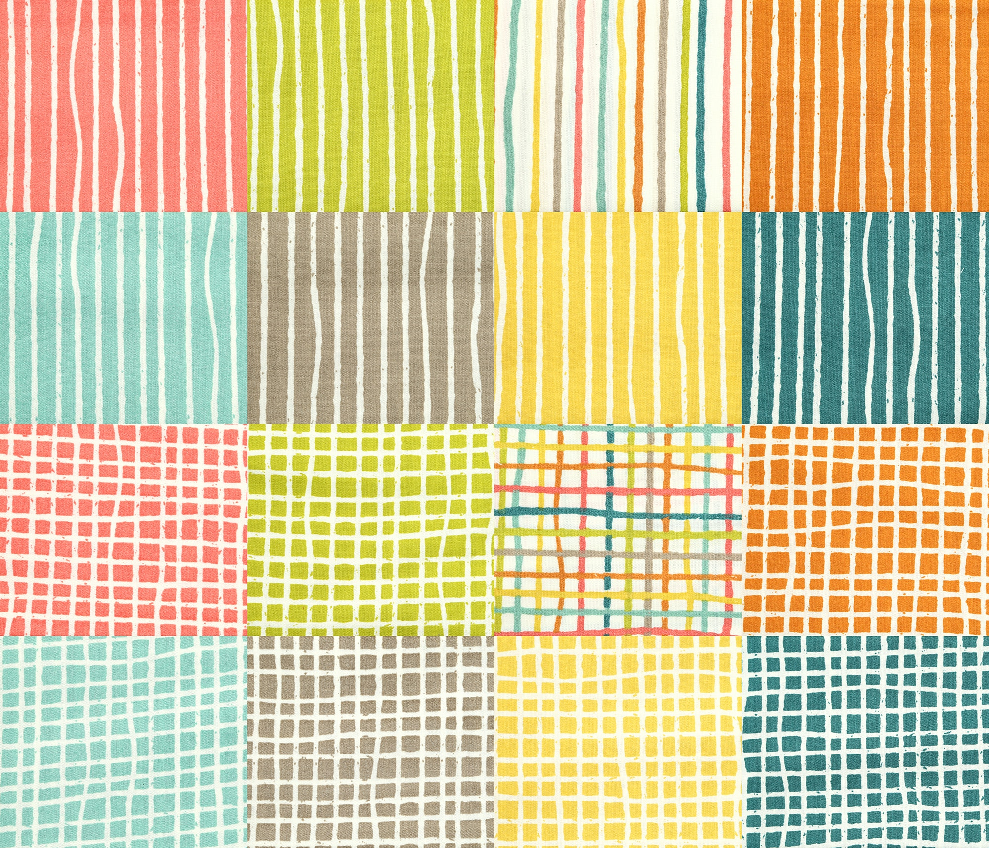 Farm Fresh Essentials Fat Quarters by Birch Fabrics
