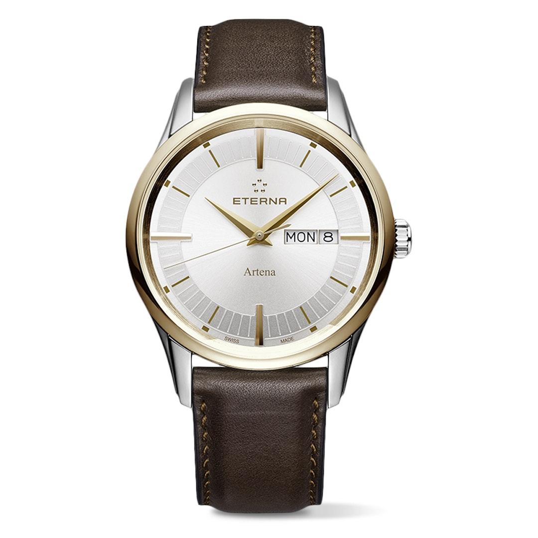 Eterna Artena Day Date Quartz Watch