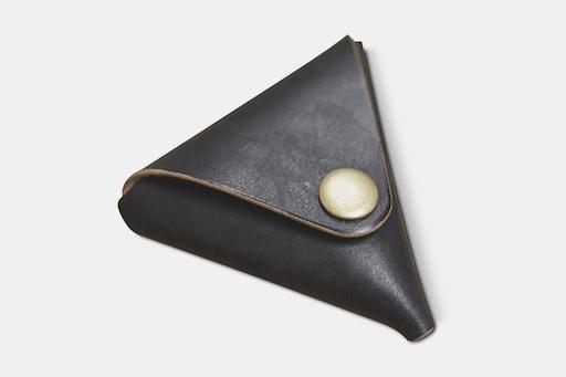 Eternal Leather Goods Triangular Coin Case