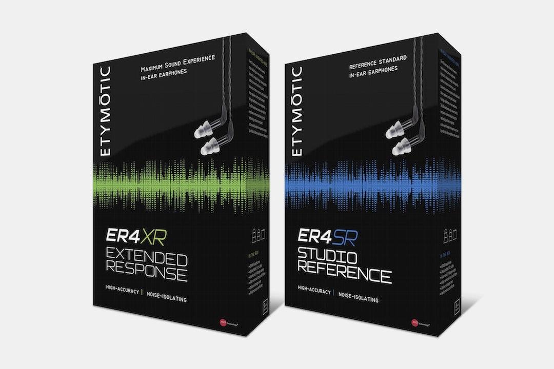 Etymotic ER4SR & ER4XR IEMs