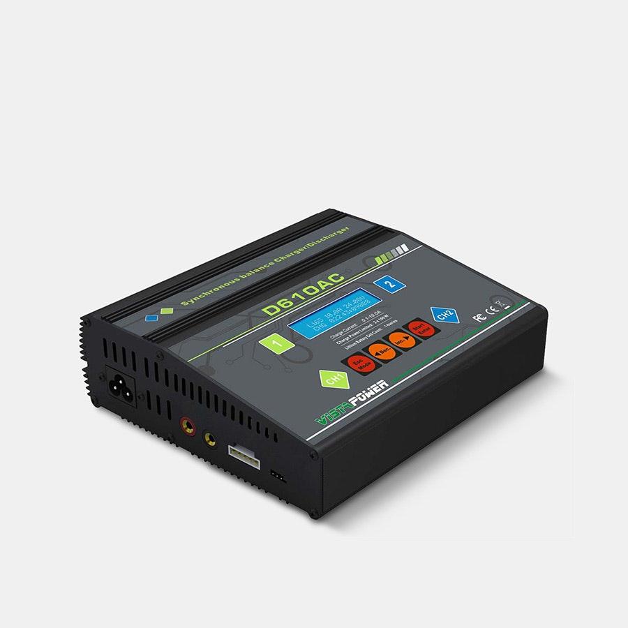 EV-Peak D610A Dual Port AC/DC 200W Charger