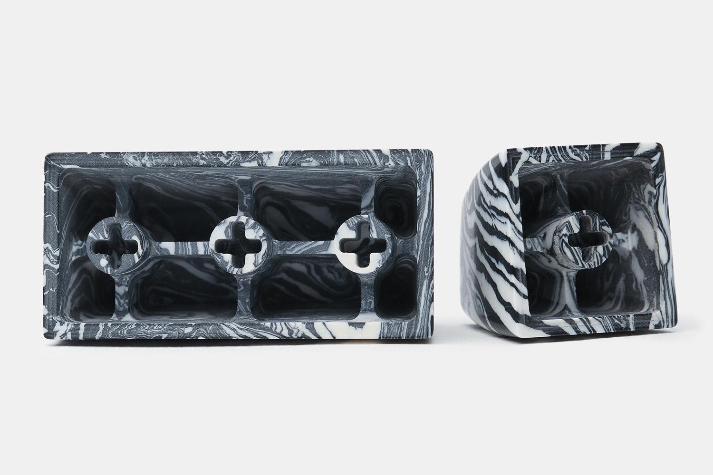 EVE Marble-Style Artisan Keycaps (Esc + Backspace)