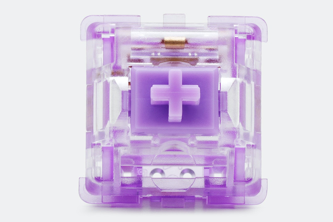 Everglide Crystal Violet Custom Mechanical Switches