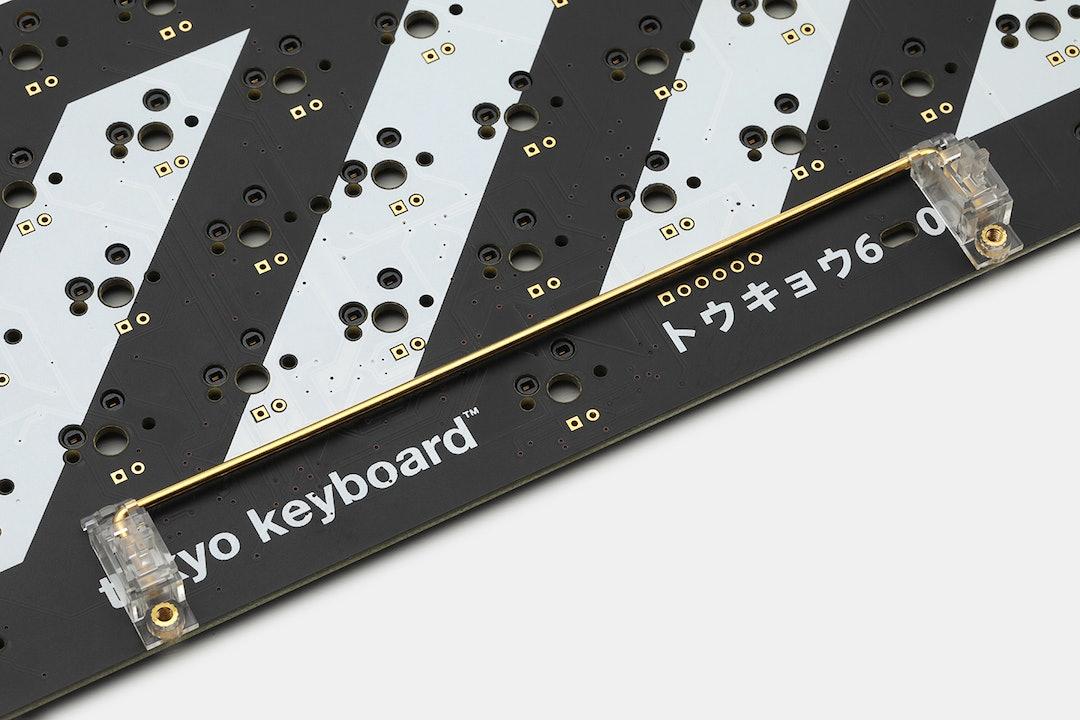 Everglide Transparent Gold-Plated Stabilizer Set