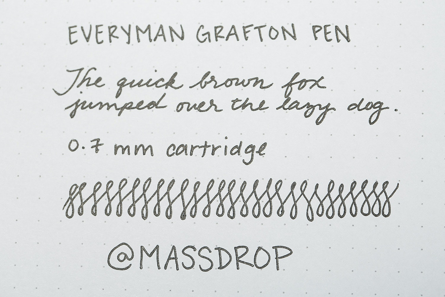 Everyman Grafton Pen