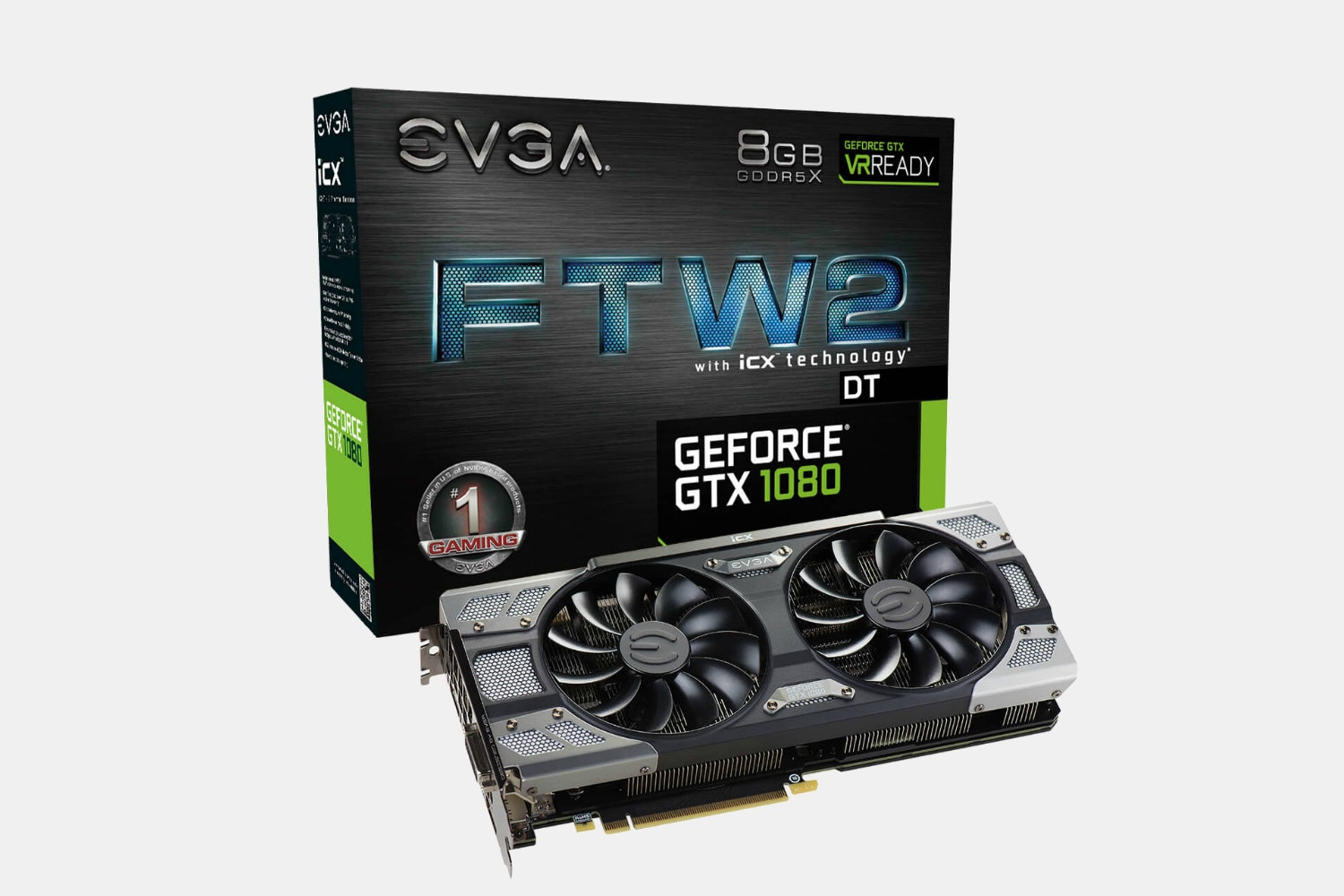 EVGA GeForce GTX 1080 FTW2 DT GAMING