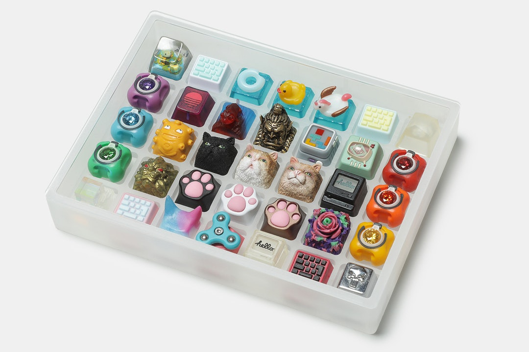 Evil Artisan Acrylic Keycap Collector Box