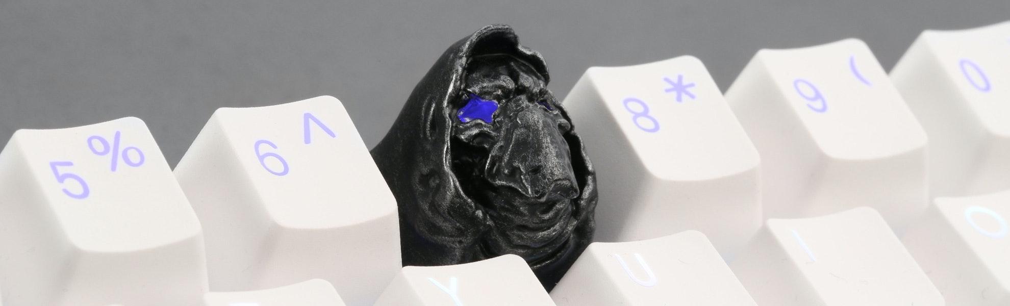 Evil Silence Artisan Keycap